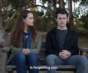 hannah baker, katherine langford, and couple image