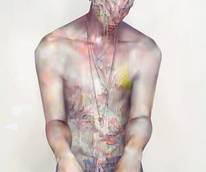 art, boy, and naked image