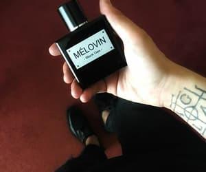 black, melovin, and hand image