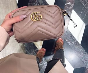 bag, chic, and gucci image