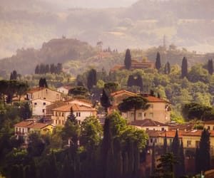 italy, Houses, and landscape image