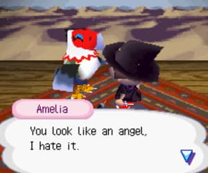 amelia, angel, and animal image