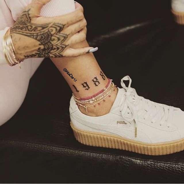 tattoo, rihanna, and puma image