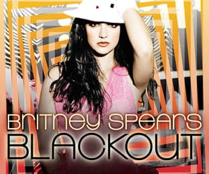 art, blackout, and britney spears image