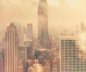 empire state building, new york city, and nyc image