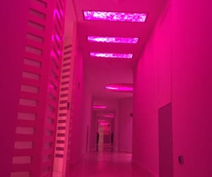 pink, glow, and grunge image
