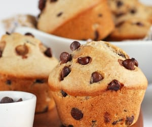 food, inspiration, and muffin image