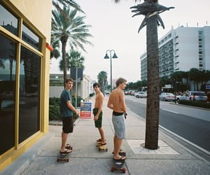 boy, skate, and Hot image