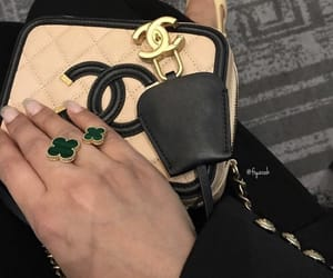 fashion style, accessories gold, and outfit clothes image