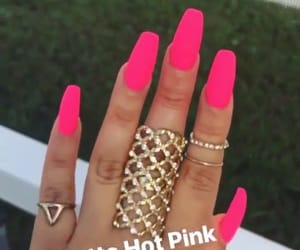 fashion, nails, and néon image