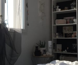 bed, bedroom, and cocooning image