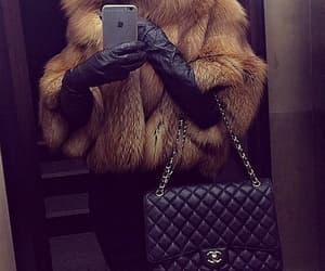fashion, chanel, and fur image