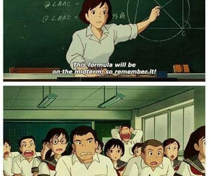 funny, anime, and school image