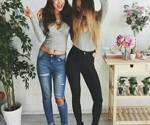 amigas, chicas, and lindas image