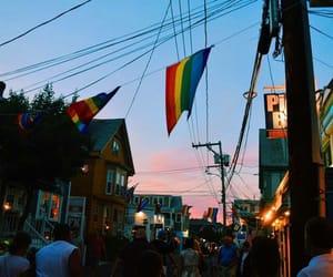 lgbt, sky, and gay image
