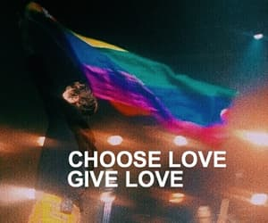 love is love and Harry Styles image