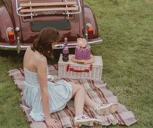 aesthetic, car, and dress image