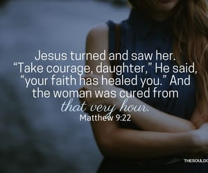 Christianity, girl, and healing image