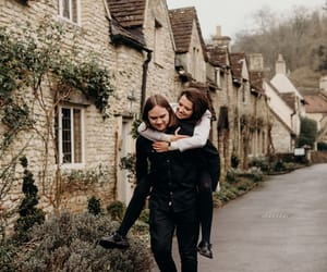 aesthetic, couple, and village image