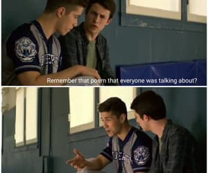funny, 13 reasons why, and clay jensen image
