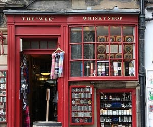 shop, red, and travel image