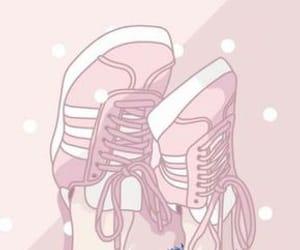 pink, wallpaper, and pastel image
