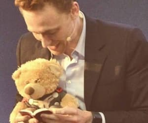 tom hiddleston, teddy bear, and loki image