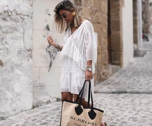Burberry, fashion, and street style image
