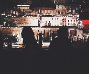 bar, drinks, and night out image