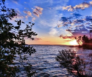 beauty, lake, and nature image