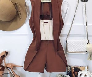 bag, brown, and classy image