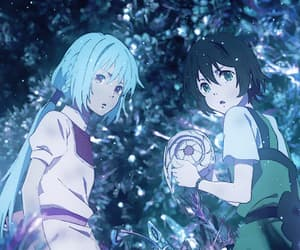 anime, gif, and children of the whales image