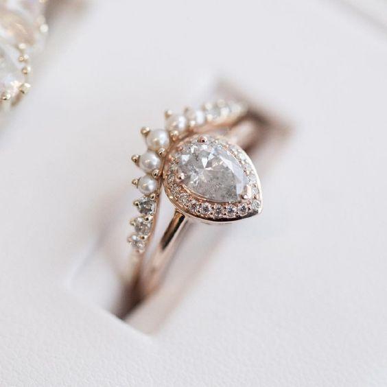 beautiful, diamonds, and ring image