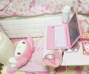 room, sanrio, and my melody image