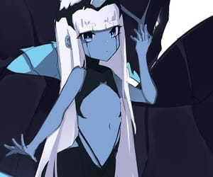 001, anime, and anime girl image