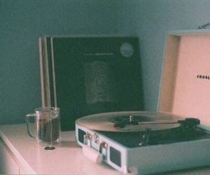 music, vintage, and tea image