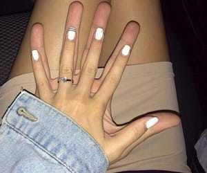couple, hands, and cute image