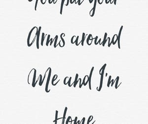 love, quotes, and home image