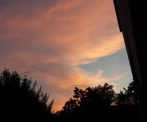 germany, sky, and sunset image