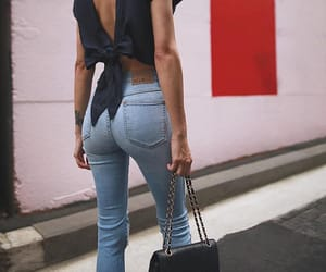 casual, girly, and jeans image