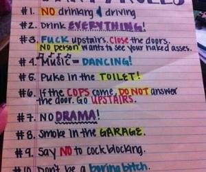 party, rules, and fun image