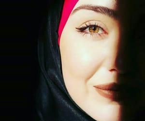 beauty, girls, and islam image