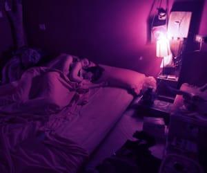 couple, purple, and grunge image