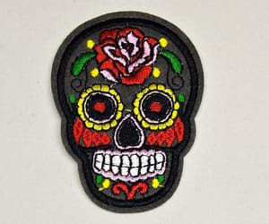 day of the dead, sewing supplies, and etsy image