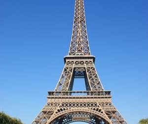 france, la tour eiffel, and paris image