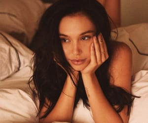 bed, eyes, and alexis ren image