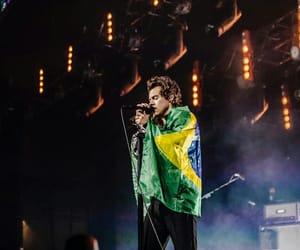 concert, tour, and brazil flag image