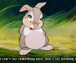 bambi, disney, and quotes image