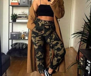 fashion, style, and camo image