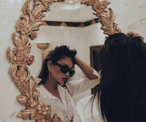 girl, mirror, and style image